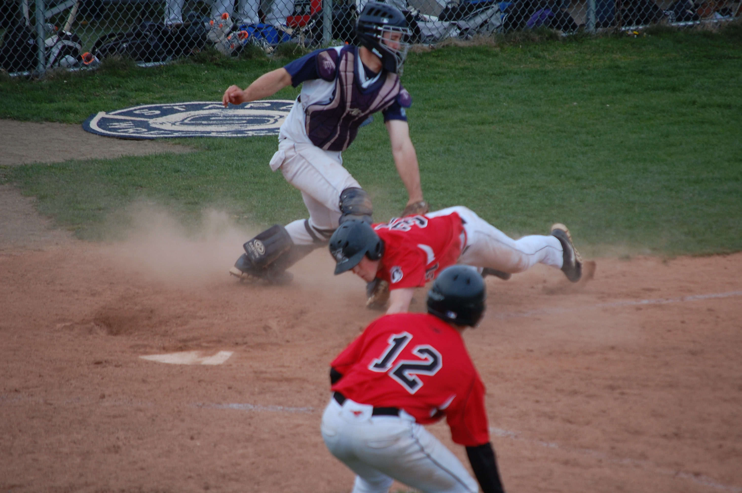 Warde runner gunned down in the 7th!