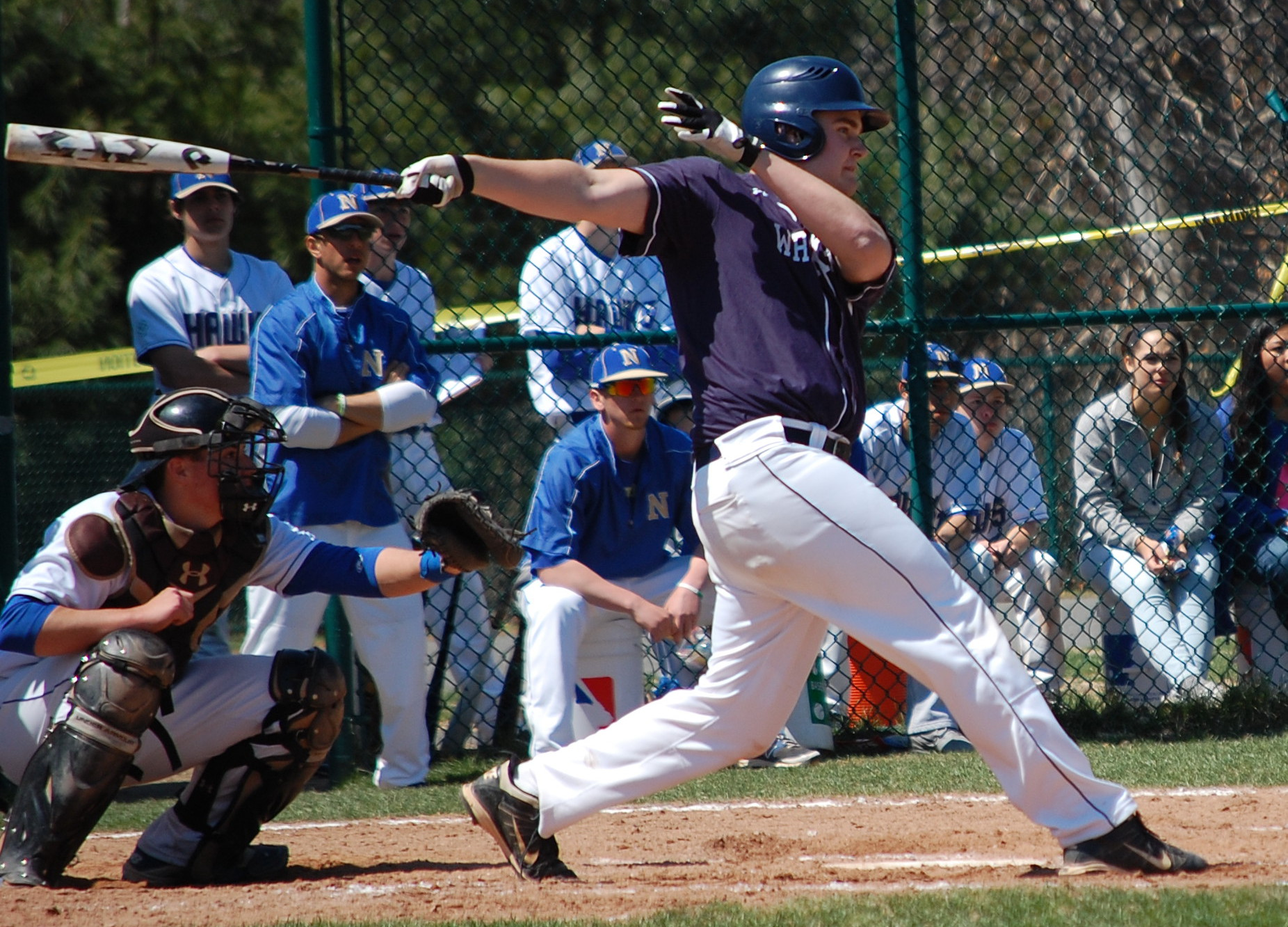 Bryan Porter crushes 2 run double in the 3rd inning Saturday!