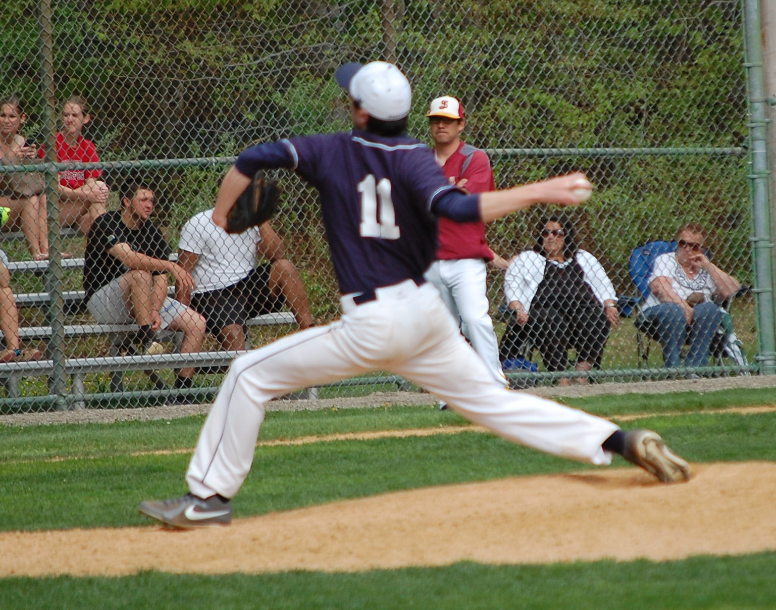 Rob Vallone throws a gem for the Wreckers !