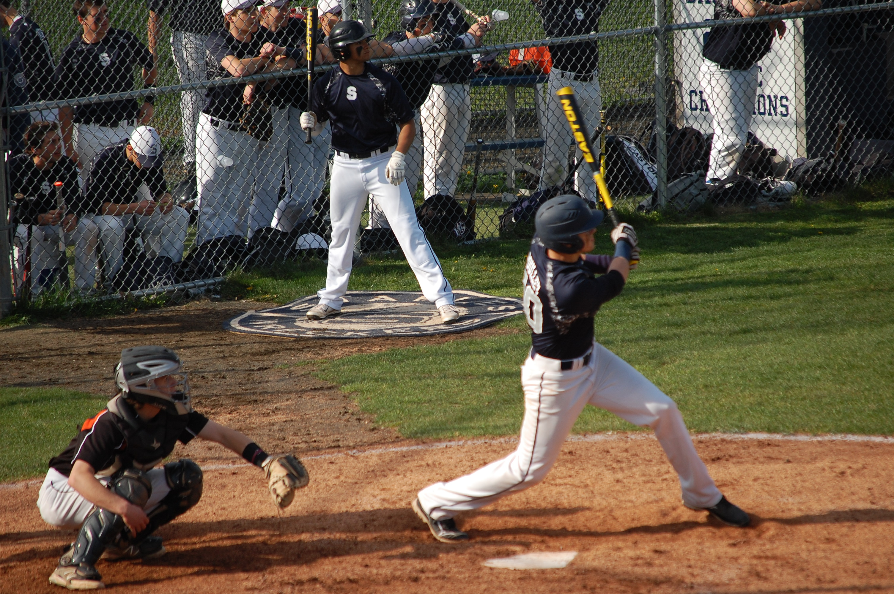 Ross Poulley goes deep in the 5th Friday v. Ridgefield !